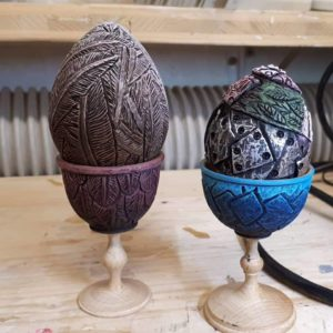 Egg cups and Eater Eggs