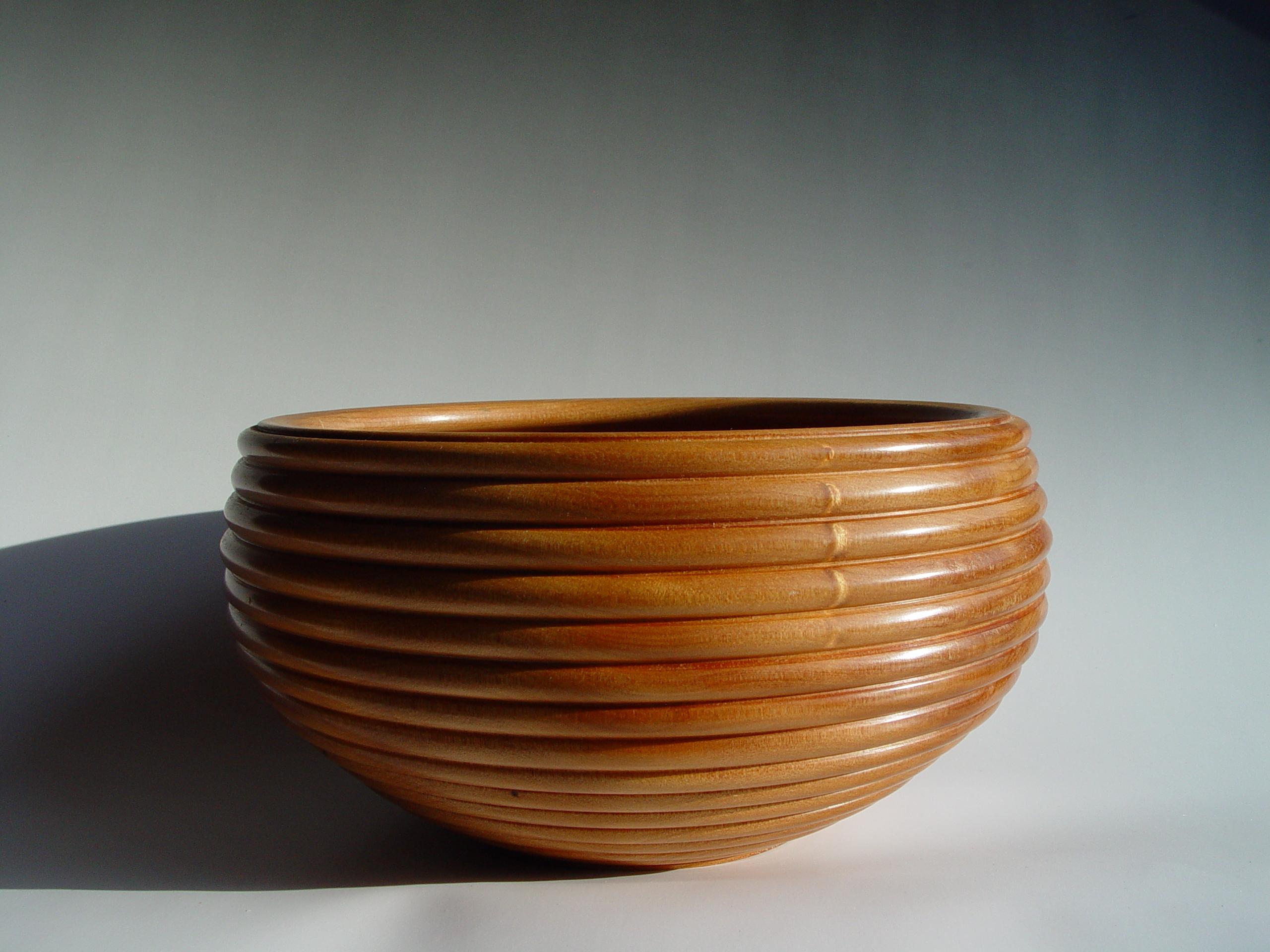 Beads on bowl