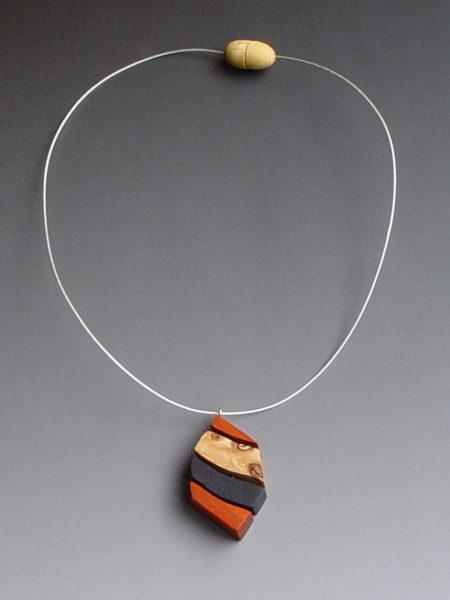 rare wood pendant