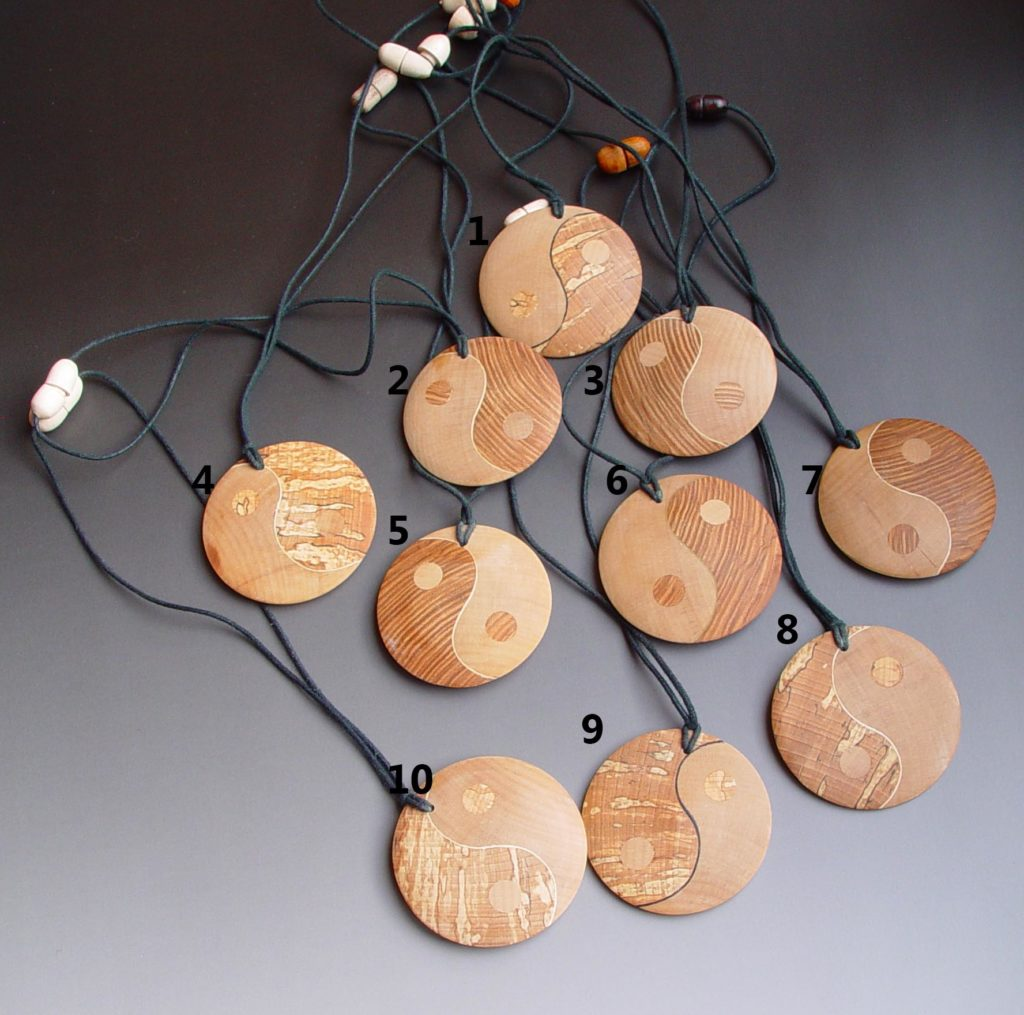 Numbered Pendants
