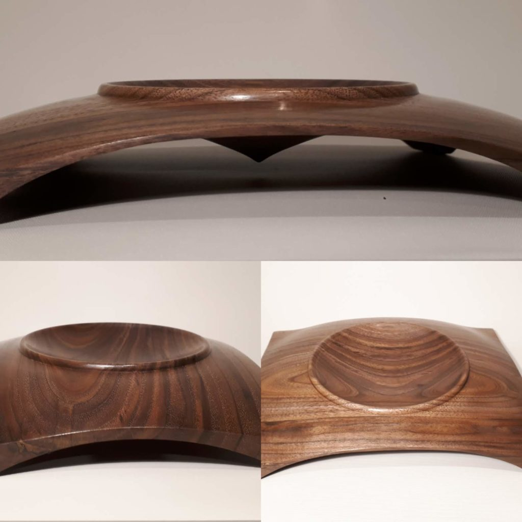 Walnut Drop - A collaboration between Guy du Toit and Coralie Saramago.