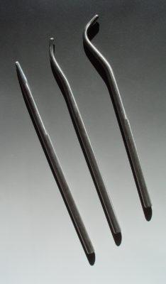 Underside of mini-mun hollowers