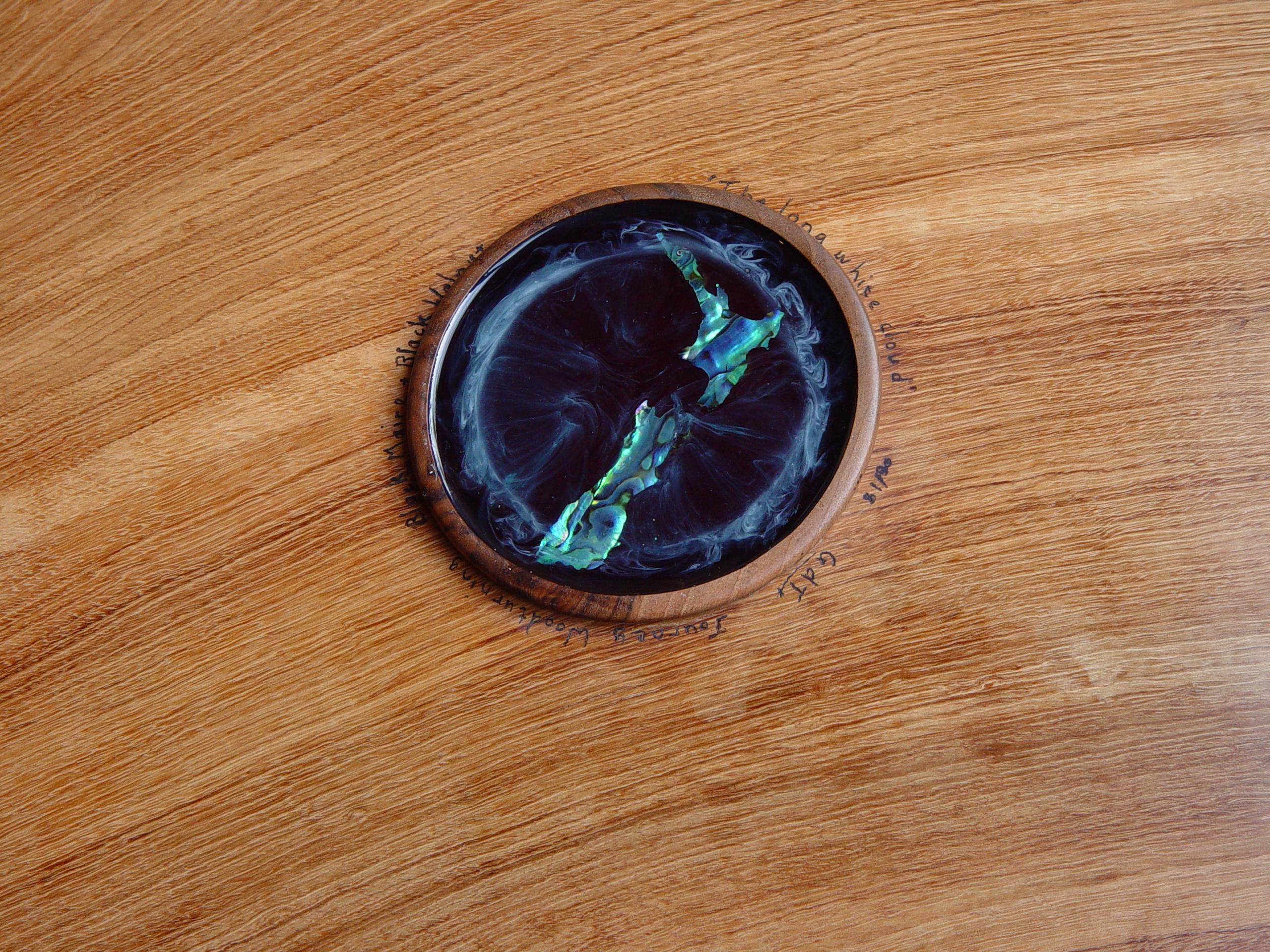 Acrylic Resin and Paua inlay
